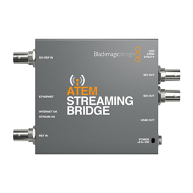 Blackmagic ATEM Streaming Bridge Switcher and Converter